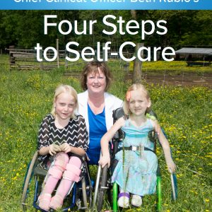 Beth with two disabled children | Aveanna.com
