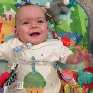 baby smiling | Aveanna.com