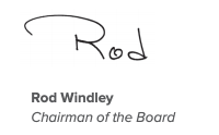 Ron Windley, Chairman of the Board