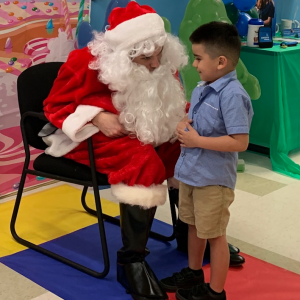 Read Article Santa Visits Aveanna's South Houston Clinic