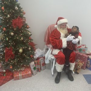 Read Article Mr. and Mrs. Claus Visit Aveanna's Shreveport PDHC