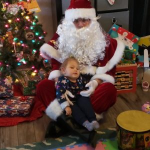 Read Article Santa Visits Aveanna's Loveland Patients