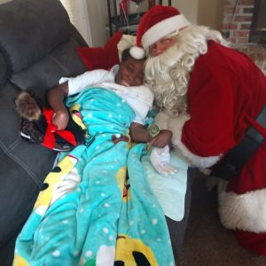 Read Article Santa Visits Valdosta Patients