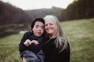 Dawson and mom Renae