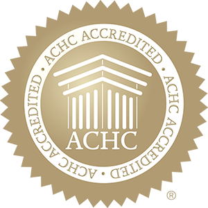 ACHC Accredited - seal of accreditation